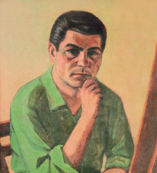 Autoritratto, 1953-54