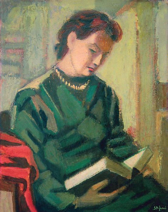 Alma che legge, 1955-56