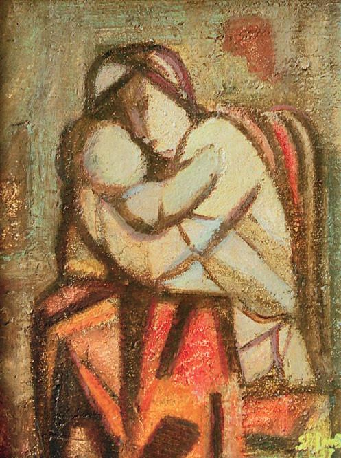 Maternità n. 2, 1958