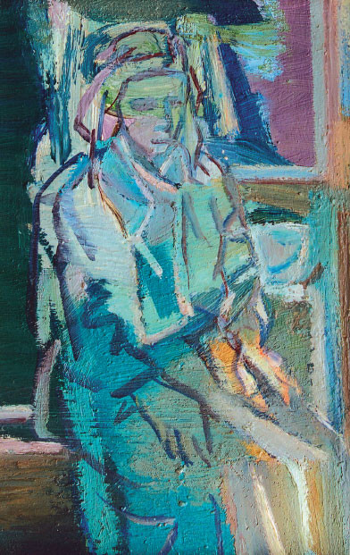 Interno con figura, 1966