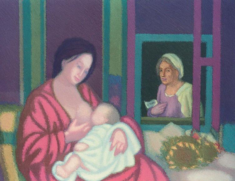 Col tempo (omaggio a Giorgione), 2002