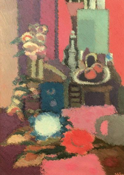 Omaggio a Braque n. 2, 1986