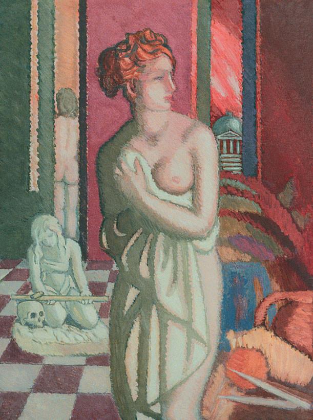Venere italica (omaggio a Canova), 1984