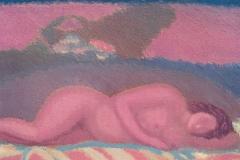 Tramonto con figura, 2002