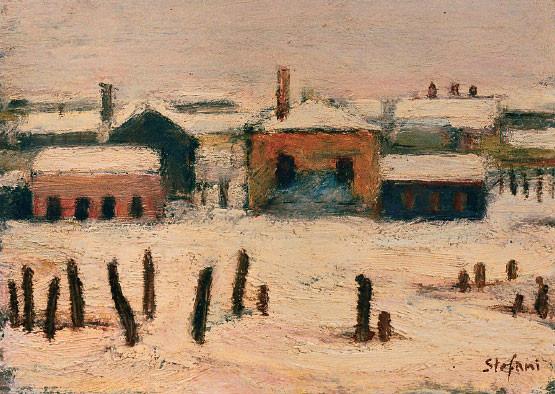 Inverno a Volpago, 1953