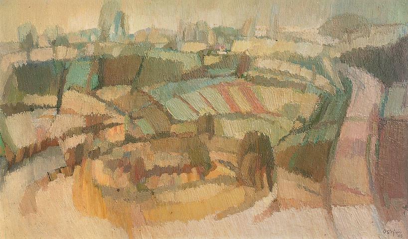 Paesaggio montelliano, 1966