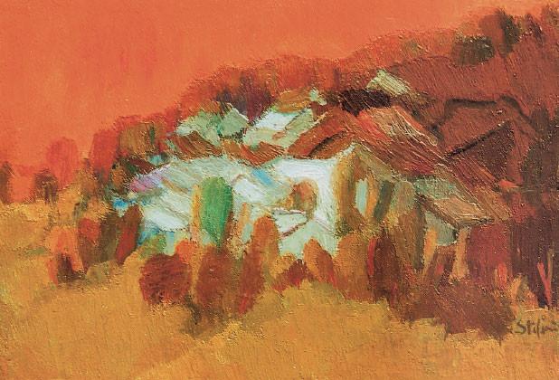 Tramonto sul Montello, 1966