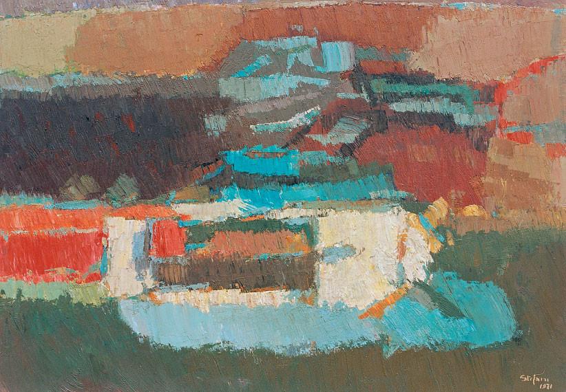 Memoria di paesaggio n. 2, 1971