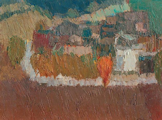 Strada in collina, 1974