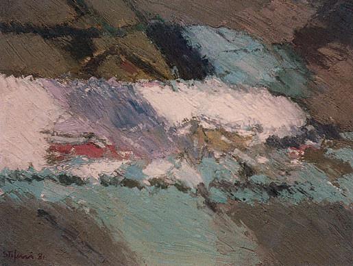 La collina bianca, 1981