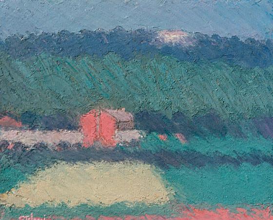 Casa rossa a Breganze, 1997