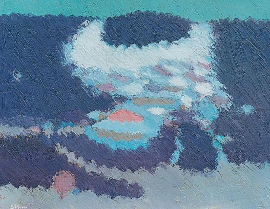 Inverno verso Valbella, 1987