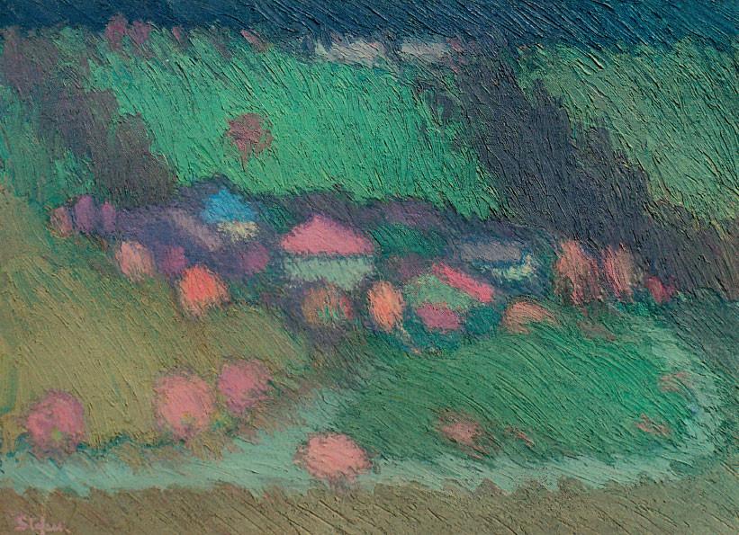 Paesaggio asiaghese, 1996